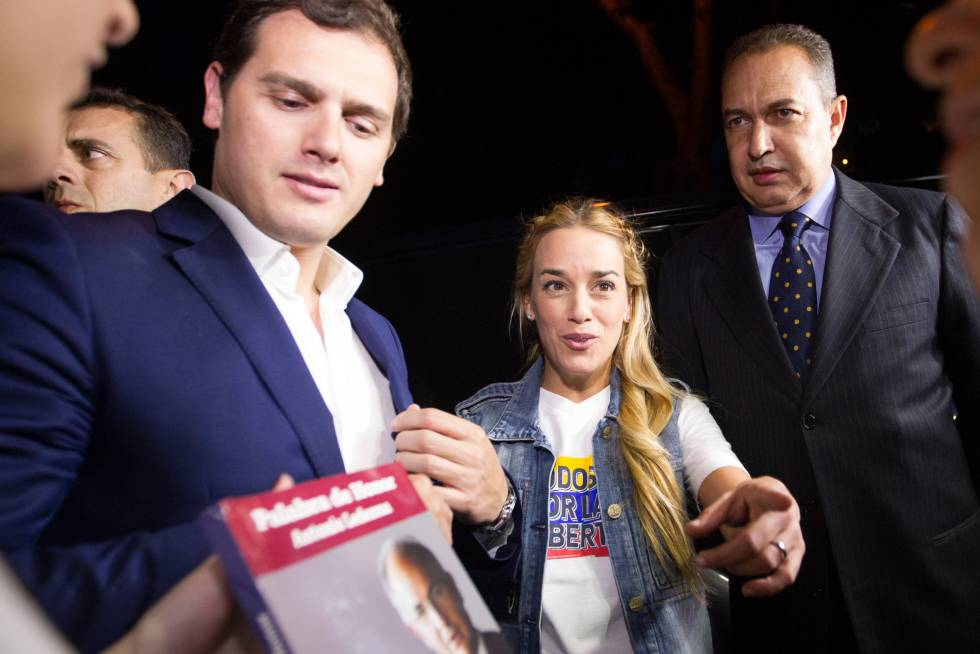 Albert Rivera e Lilian Tintori tentaram, sem sucesso, visitar o prefeito de Caracas, Antonio Ledezma, que se encontra em prisão domiciliar.