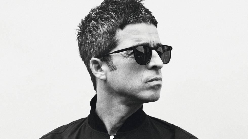 Noel Gallagher, fotografado com exclusividade para ICON, em Londres.