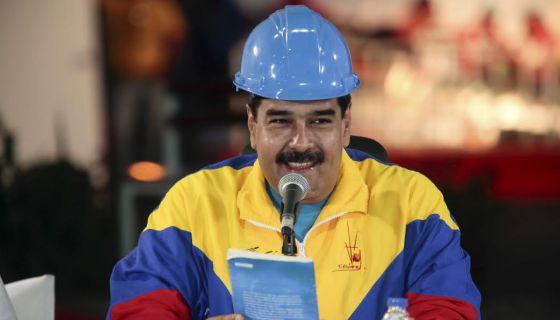 Maduro, em um evento em Cojedes, na Venezuela.