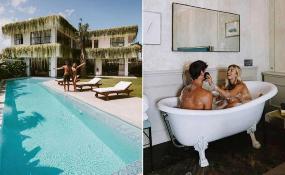 O casal de influenciadores que ergueu uma casa em Bali com o dinheiro faturado no Instagram.