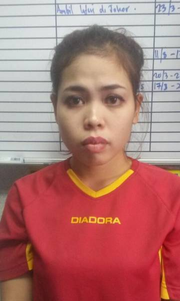 A indonésia Siti Aisyah.