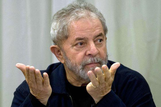 O ex-presidente Lula, em São Paulo.