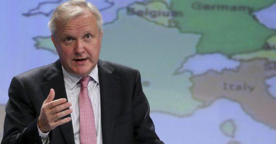 O vice-presidente da Comissão Europeia, Olli Rehn.