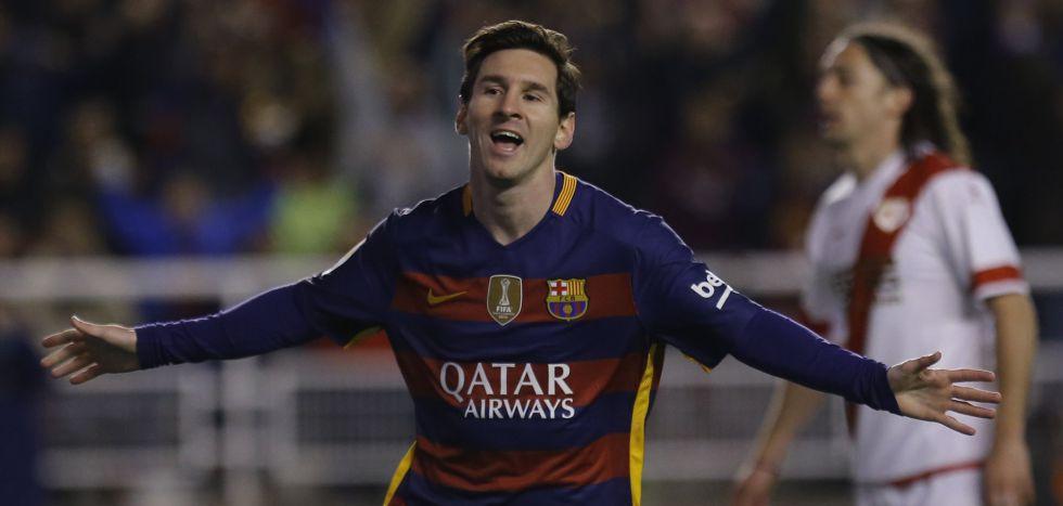 Messi foi o grande nome do jogo.