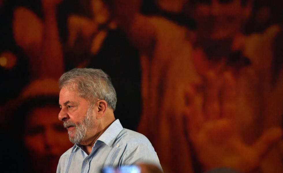 Lula no lançamento de sua pré-candidatura, no dia 25 de janeiro.