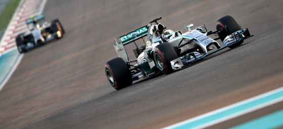 Hamilton em Abu Dhabi.