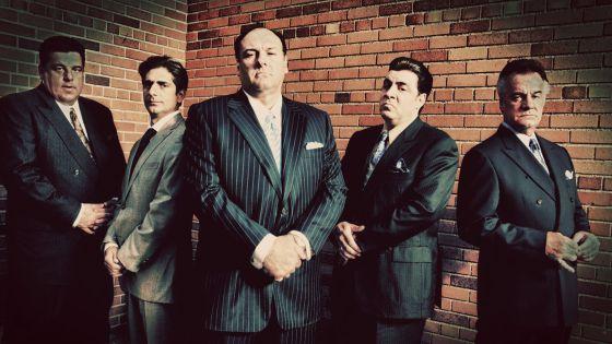 Imagem promocional de 'Os Sopranos'.