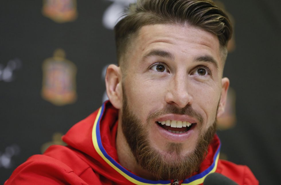 Sergio Ramos, zagueiro do Real Madrid.