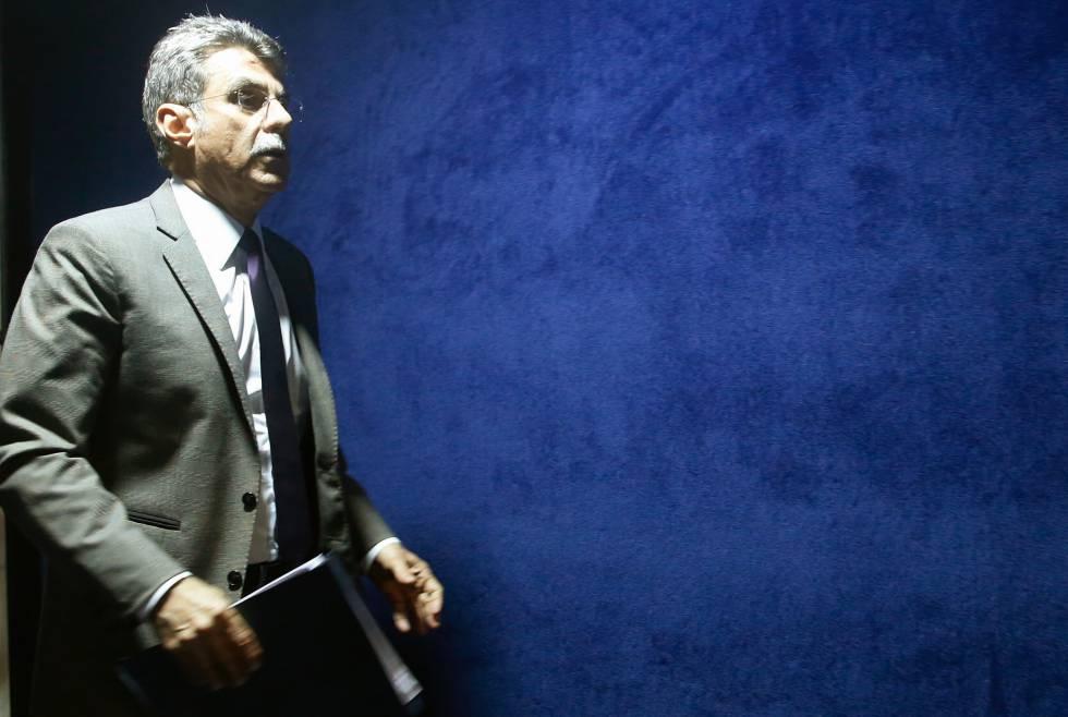 O peemedebista Romero Jucá, líder do Governo Temer no Senado.