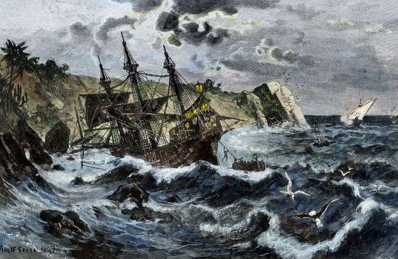 O afundamento do Santa María, visto pela arte.