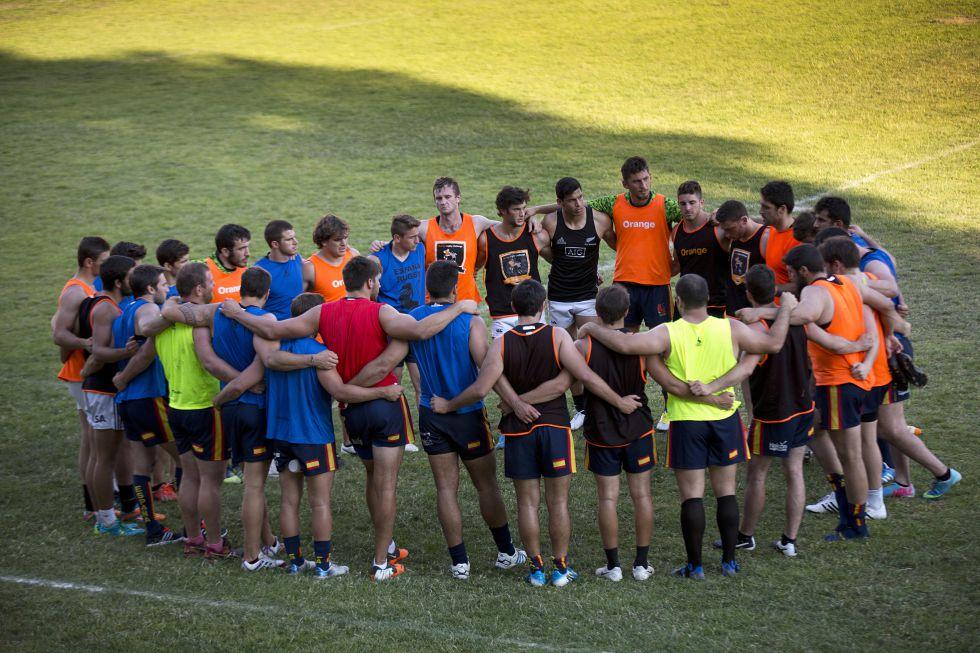 Presentamos a algunos integrantes de la selección española de rugby, con un fuerte componente francés