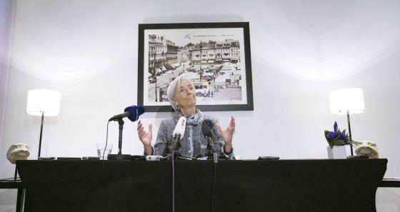 A diretora do FMI, Christine Largarde.