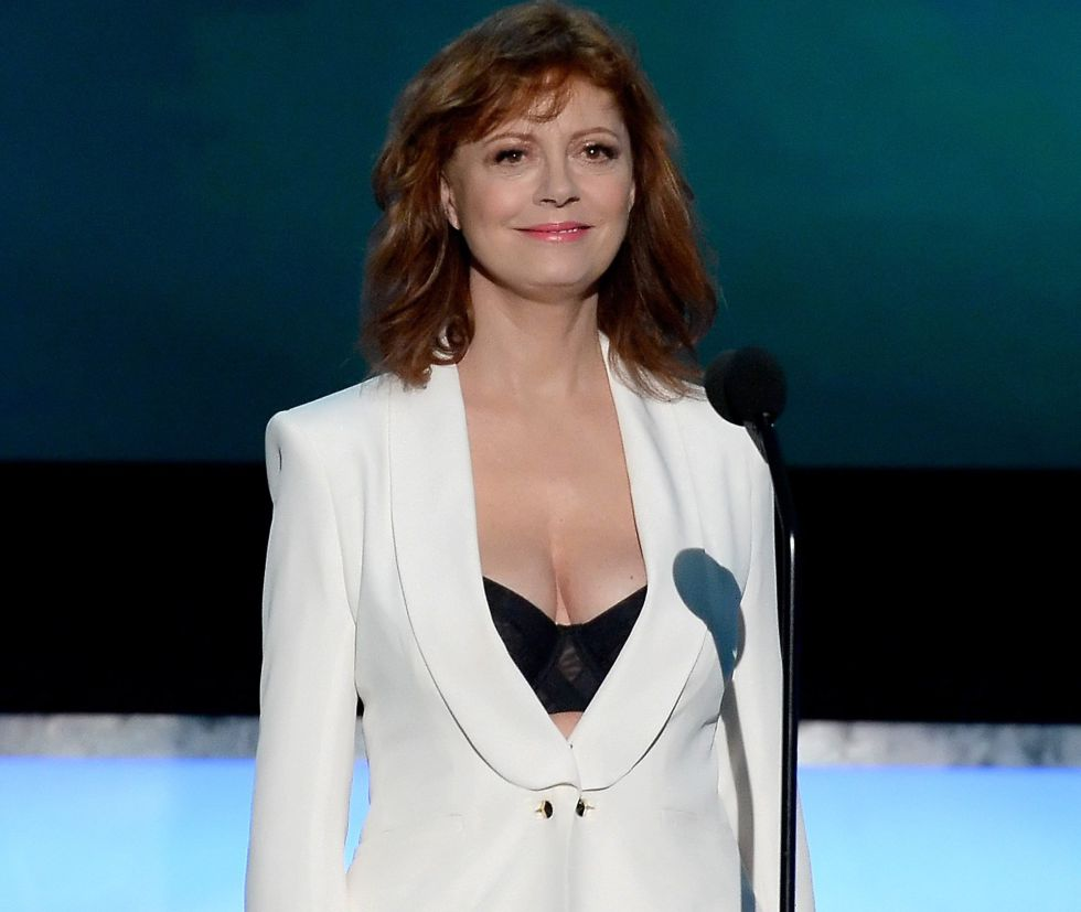 Susan Sarandon na cerimônia do Screen Actors Guilde em Los Angeles, no último dia 30.