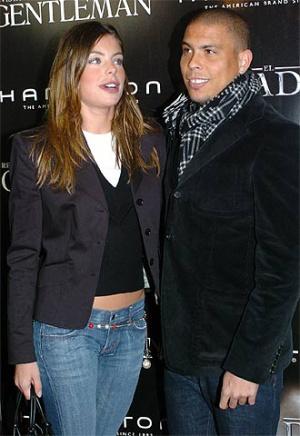 Daniela Cicarelli e Ronaldo em 2005.