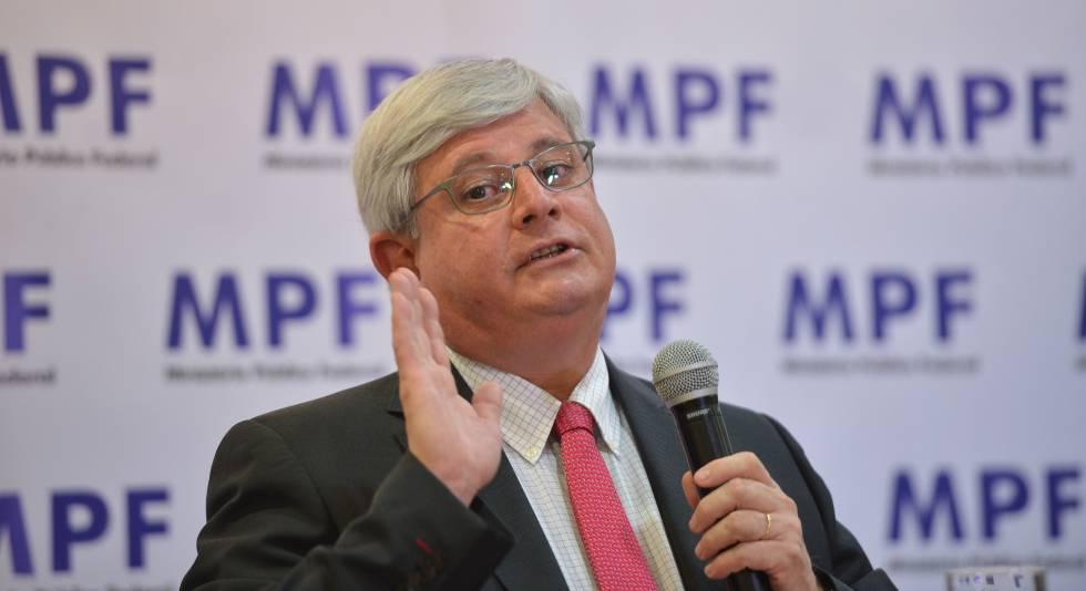 O procurador-geral, Rodrigo Janot.