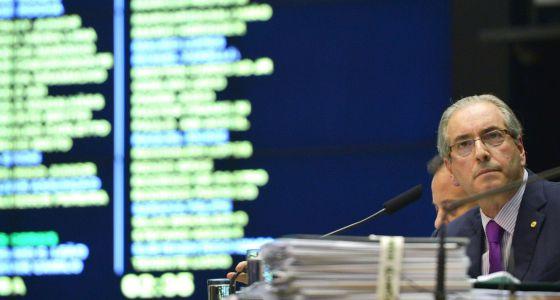 Eduardo Cunha, na Câmara.