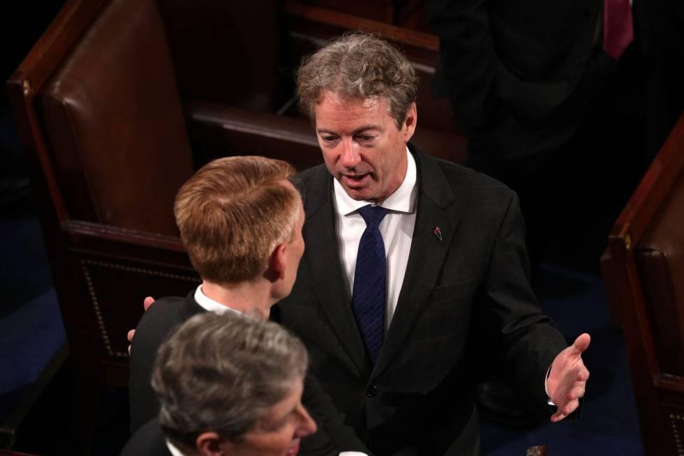 O senador Rand Paul, em 30 de janeiro.