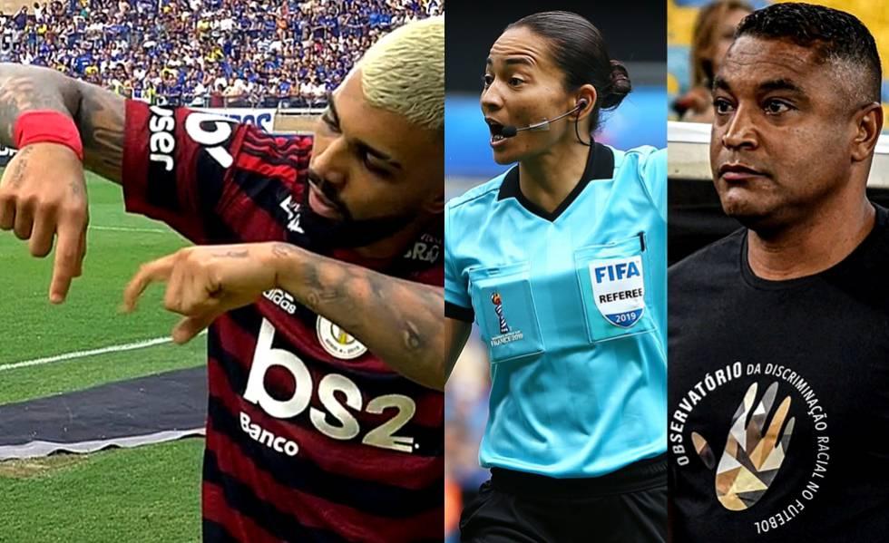 Gabigol, Edina Alves e Roger Machado: destaques do Campeonato Brasileiro.