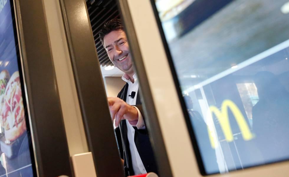 Steve Easterbrook, até semana passada executivo-chefe do McDonald's.