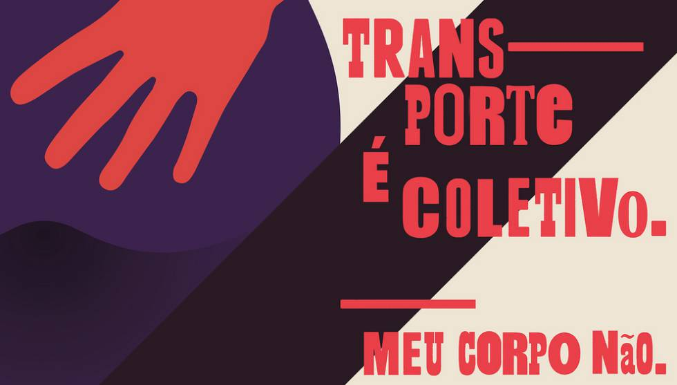 Cartaz da campanha do tumblr #MeuCorpoNãoÉPúblico