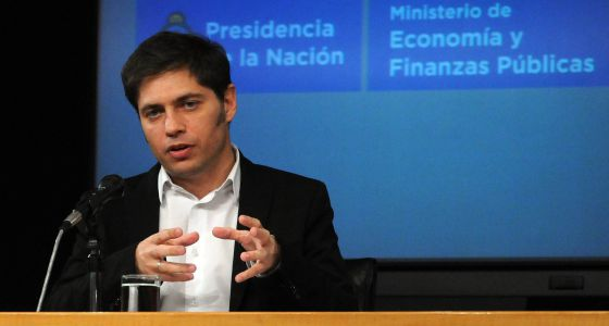 Axel Kicillof, ministro de Economia argentino.