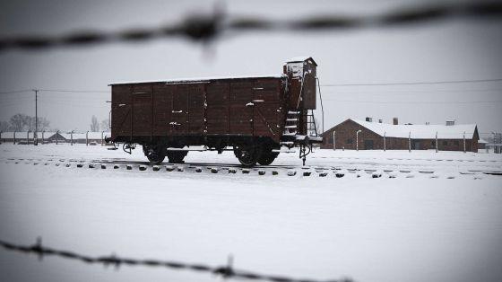 Campo nazista de Auschwitz-Birkenau em Oswiecim, Polonia.
