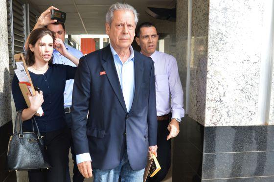 José Dirceu, em dezembro de 2014.