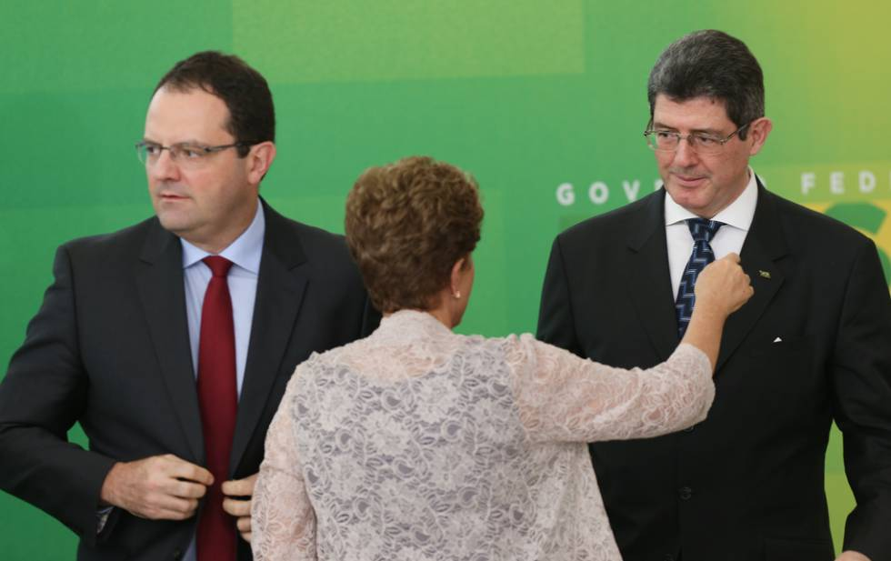 Nelson Barbosa, Dilma o ex-ministro Levy.