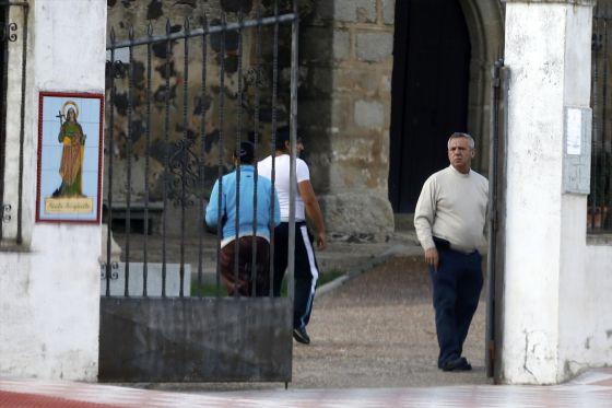 O padre espanhol, em maio passado.