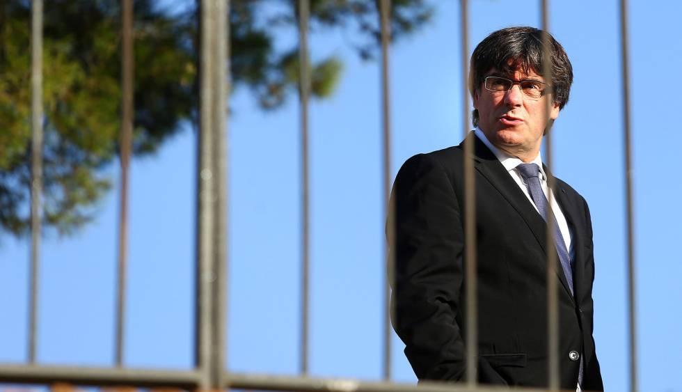 O presidente catalão, Carles Puigdemont.