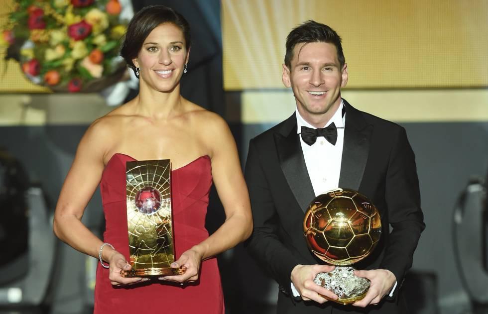 Lloyd e Messi, os melhores do mundo.