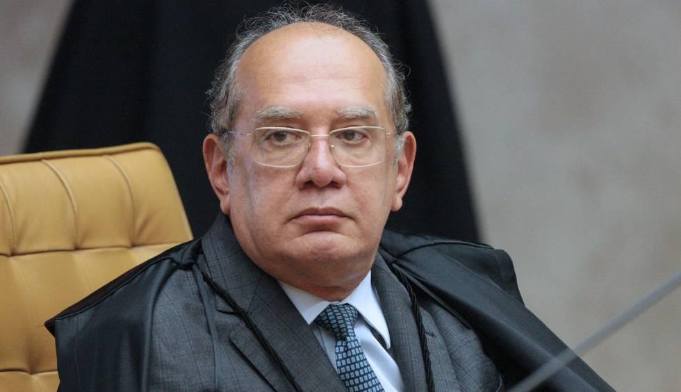 O ministro do Supremo, Gilmar Mendes, em sessão em março de 2019.