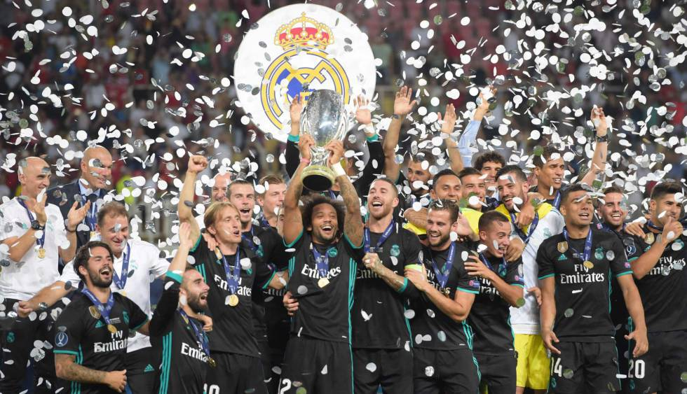 Real Madrid leva a taça pelo segundo ano consecutivo.