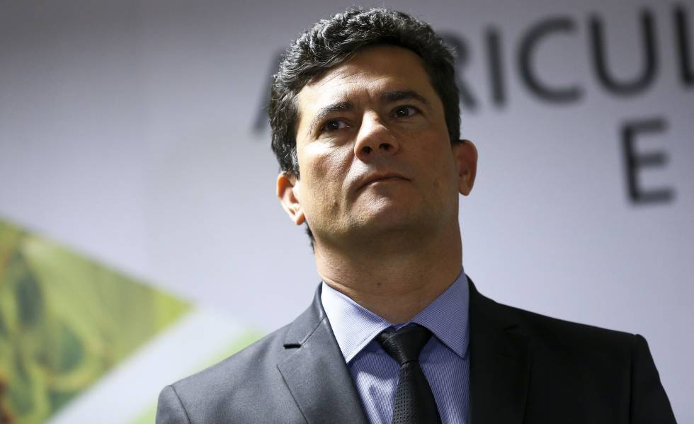 Ministro Sergio Moro em 16 de outubro de 2019.