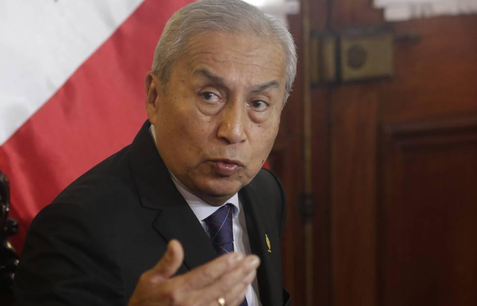 O promotor geral de Peru, Pedro Chávarry.