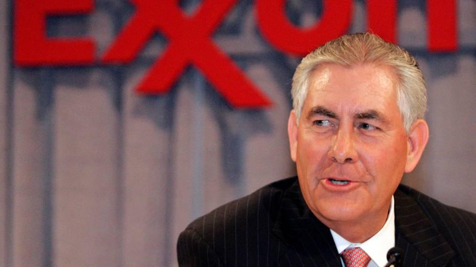 Rex Tillerson, CEO da petroleira Exxon Mobil, nomeado secretário de Estado do Governo Trump.