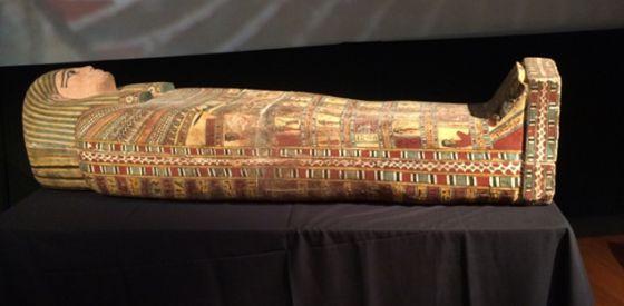Sarcófago com mais de 2.300 anos recuperado pelo Egito.