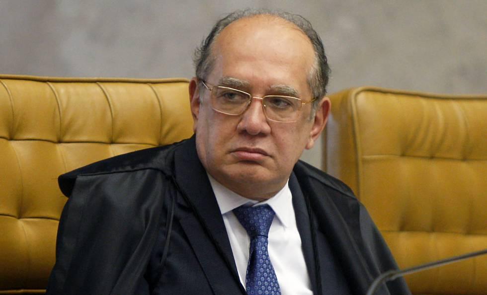 O ministro Gilmar Mendes, em novembro de 2018.