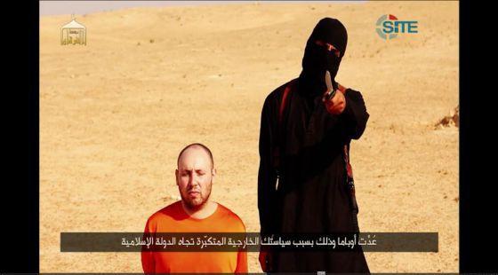 Captura do vídeo divulgado pelos jihadistas.