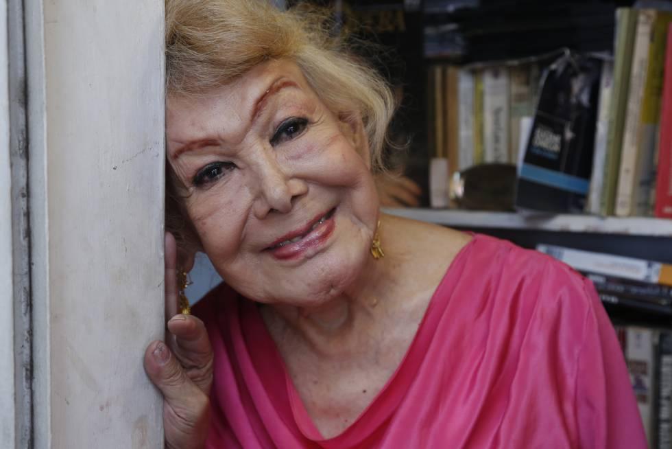 Samantha Flores em sua casa na Cidade do México