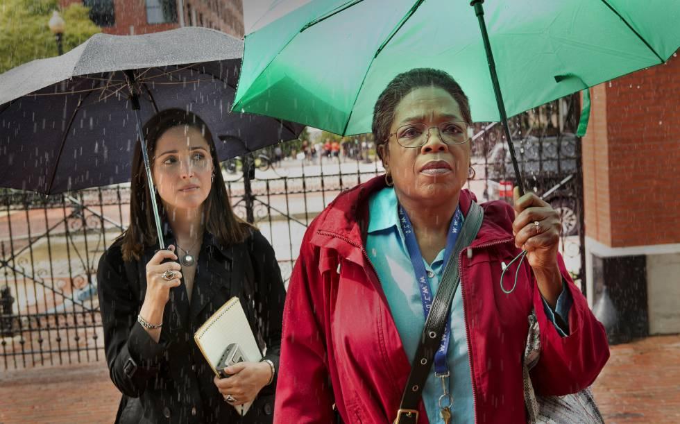 Rose Byrne e Oprah Winfrey no longa 'A Vida Imortal de Henrietta Lacks'