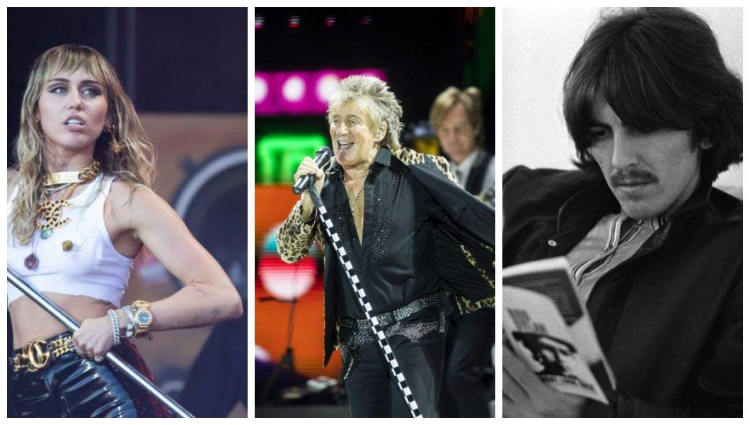 Miley Cyrus, Rod Stewart e George Harrison foram acusados de plágio.