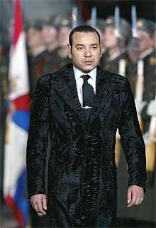 Mohamed VI durante su visita a Moscú, en octubre de 2002.
