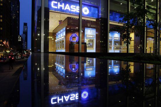 Edifício do JP Morgan Chase em Nova York.