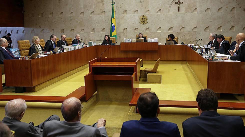 O plenário do STF, em Brasília, na semana passada.