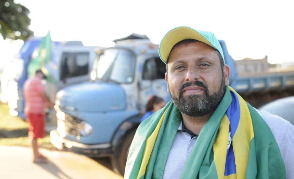 Wallace Costa Landim, conhecido como chorão, foi um dos líderes da greve dos caminhoneiros em 2018.