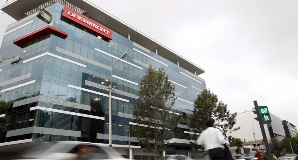 Sede da construtora Odebrecht em Lima (Peru) em fevereiro de 2016.