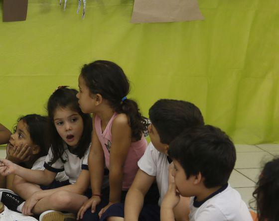 Crianças em uma escola municipal de São Paulo.