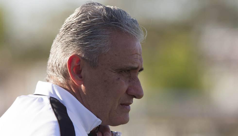 Tite, ex-treinador do Corinthians.