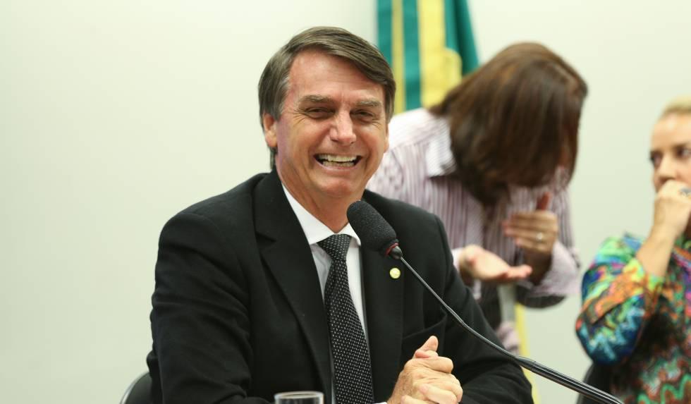 O deputado do PSC, Jair Bolsonaro